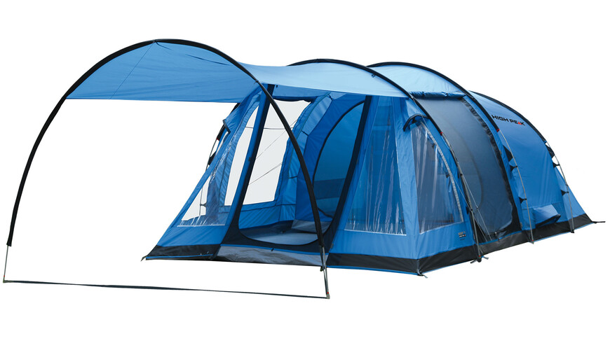 High Peak Ashley 4 tent blauw